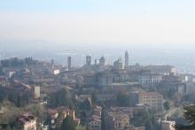 La vielle ville, vue du chateau encore plus haut.